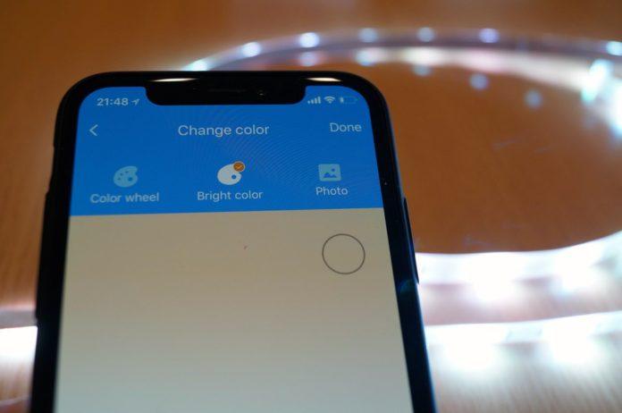 【レビュー】スマホで遠隔操作可能なテープ式LEDライト!「Koogeek スマート LED テープライト LS1」はApple HomeKitに対応し、色合いも自由自在に変更可能!これはおすすめ!