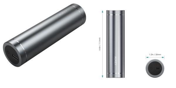 6月5日まで!300本限定で「AUKEY 5000mAh モバイルバッテリー USB Type-C」がクーポン利用で999円に!