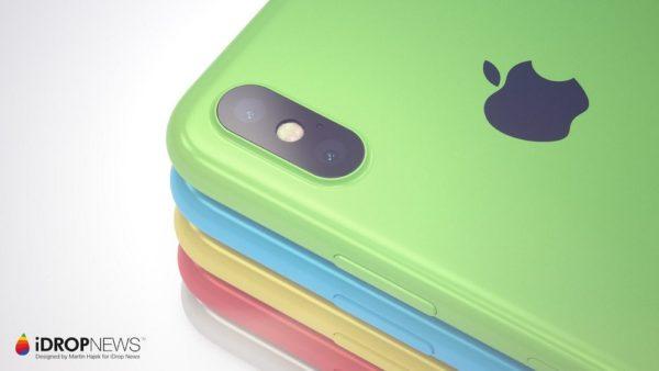 新型「iPhone 8s」はカラフルに!?
