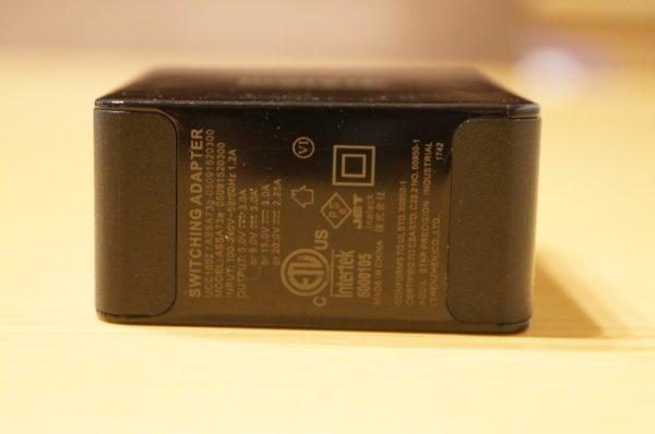 「Inateck 45W USB C / PD充電器 UCC1002」レビューまとめ!