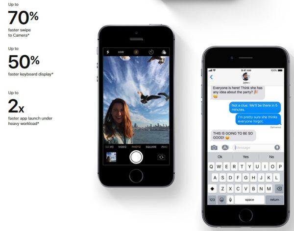 iOS 12 スピードアップ