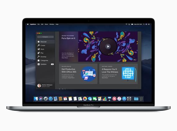 macOS mojave App Storeがリニューアル