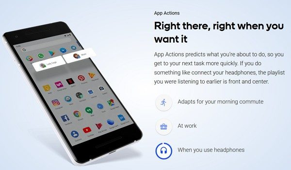 App Actions