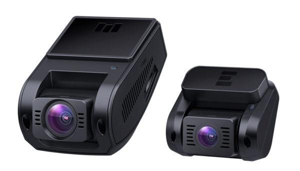 「AUKEY ドライブレコーダー 前後カメラ FHD DR02D」商品特徴:デュアルカメラ