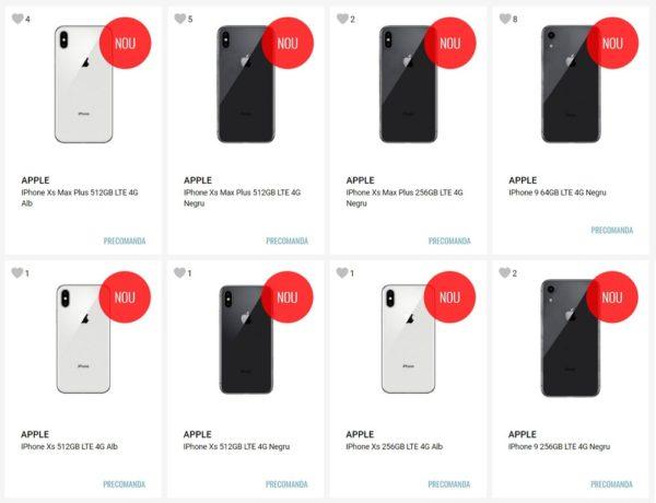 ルーマニアのオンラインショップではすでに新型iPhoneの予約受付が開始に!