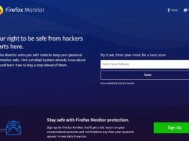 Mozillaが個人情報の漏洩をチェックできる「Firefox Monitor」をリリース。アカウントがハックされた際のアラートサービスもあり。
