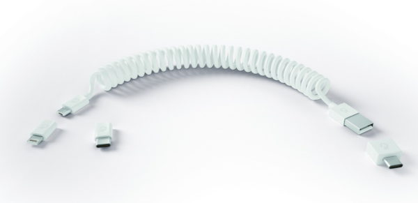 6in1充電ケーブル「Allroundo」のセット内容