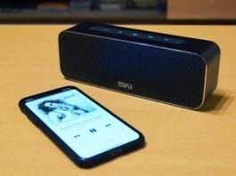 【レビュー】高級感のあるデザインが素晴らしい!「MIFA A20 Bluetooth スピーカー」は音質良好でコスパ抜群!