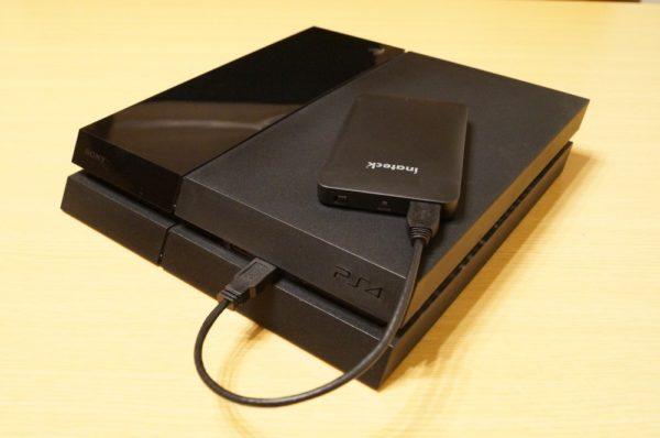PS4を外付けSSDで高速化は十分体感可能!これはおすすめ!