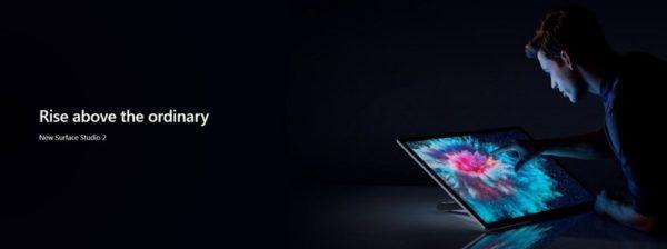 プロ向けの「Surface Studio 2」も発表!日本での発売は未定!