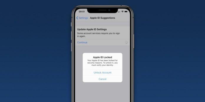 突如iPhoneに「Apple IDがロックされています」とメッセージが出て強制的にパスワードをリセットさせられる事態に。