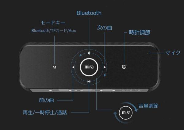「MIFA A30 Bluetooth スピーカー」のBluetoothペアリング方法&基本的な操作方法/使い方解説