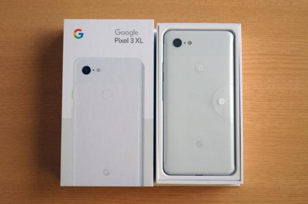 Pixel 3 XL レビュー!まずはアンボックス!