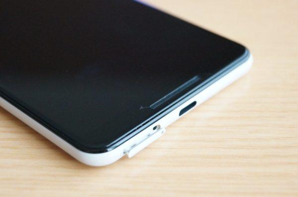 Pixel 3 SIMカードの入れ方
