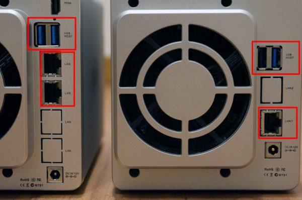 「TerraMaster F2-221」と「TerraMaster F2-220」のスペック比較まとめ