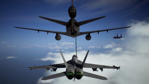 エースコンバット7 スカイズ・アンノウン:空中補給