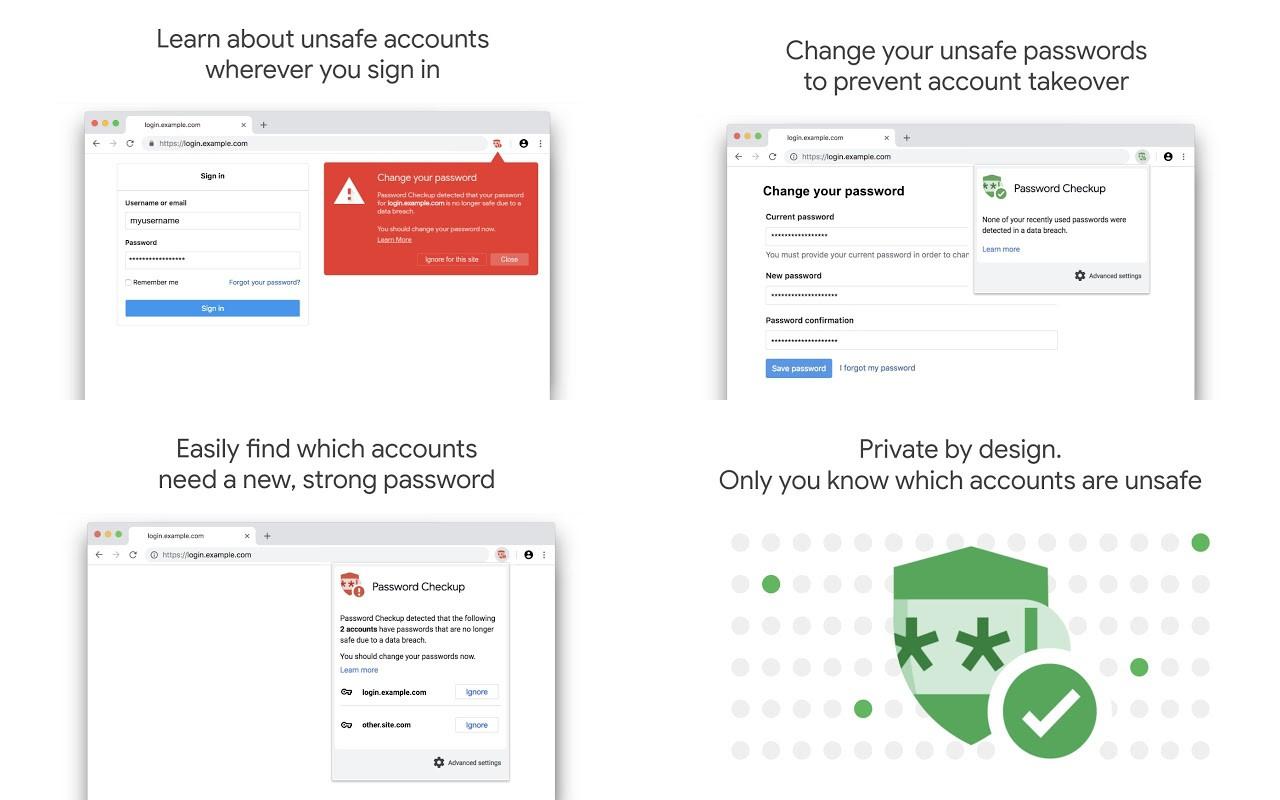 Chromeユーザー必携!流出したパスワードを警告する拡張機能「Password Checkup」をGoogleがリリース!インストール方法と使い方を解説!