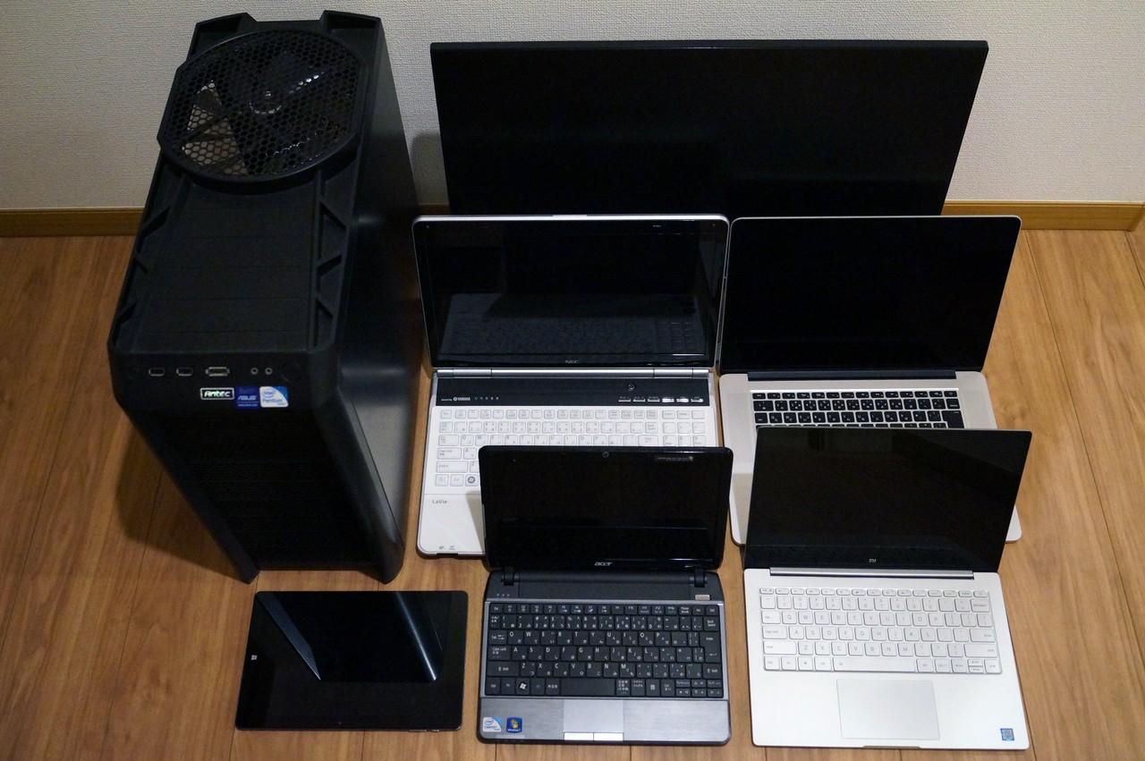 パソコン購入時の選び方:おすすめのWindows 10 PC構成スペックやメーカー、インチ数まとめ