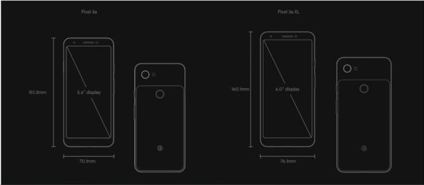 Google Pixel 3a / 3a XLのスペック&価格まとめ