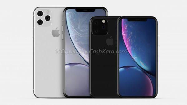 iPhone 11の予想デザイン