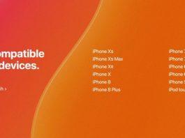 iOS 13にアップデート可能な対応機種一覧