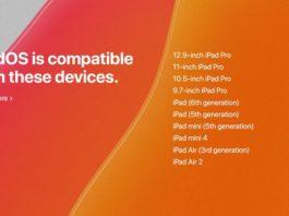 iPadOSにアップデート可能な対応機種一覧