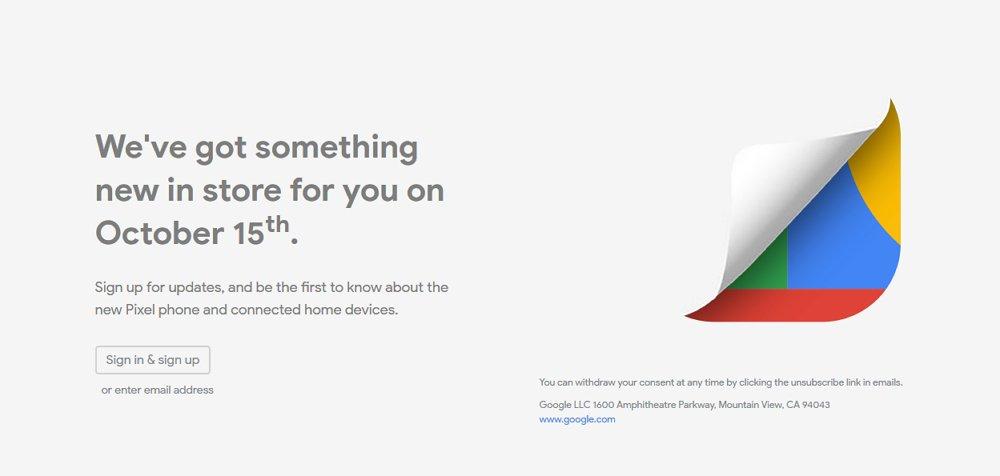 Googleの新製品発表会「Made by Google」は10月15日開催!Pixel 4の発表は間違いなしか。