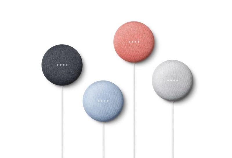 「Google Nest Mini」は音質が従来モデルよりもアップ!壁掛けも可能に!