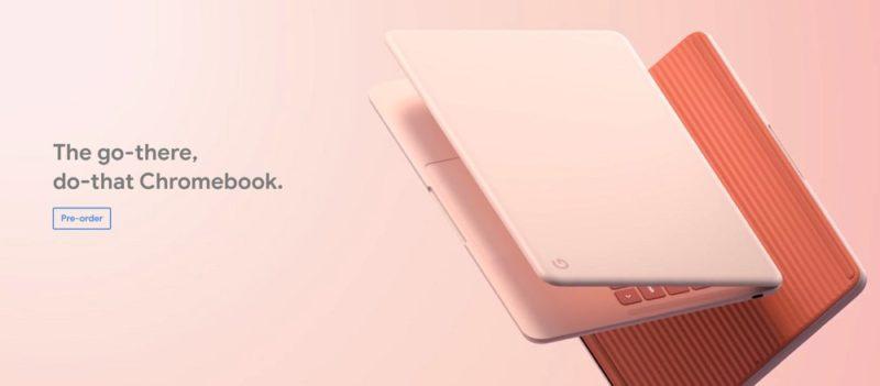 新型Chromebook「Pixelbook Go」は649ドルから。日本での発売は未定。