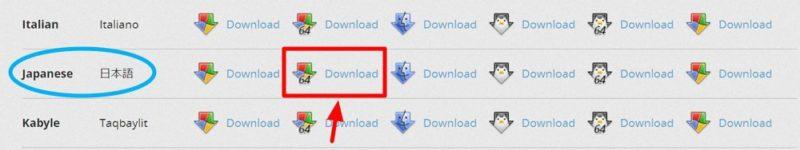 「Mozilla Thunderbird」64ビット版のダウンロードリンク