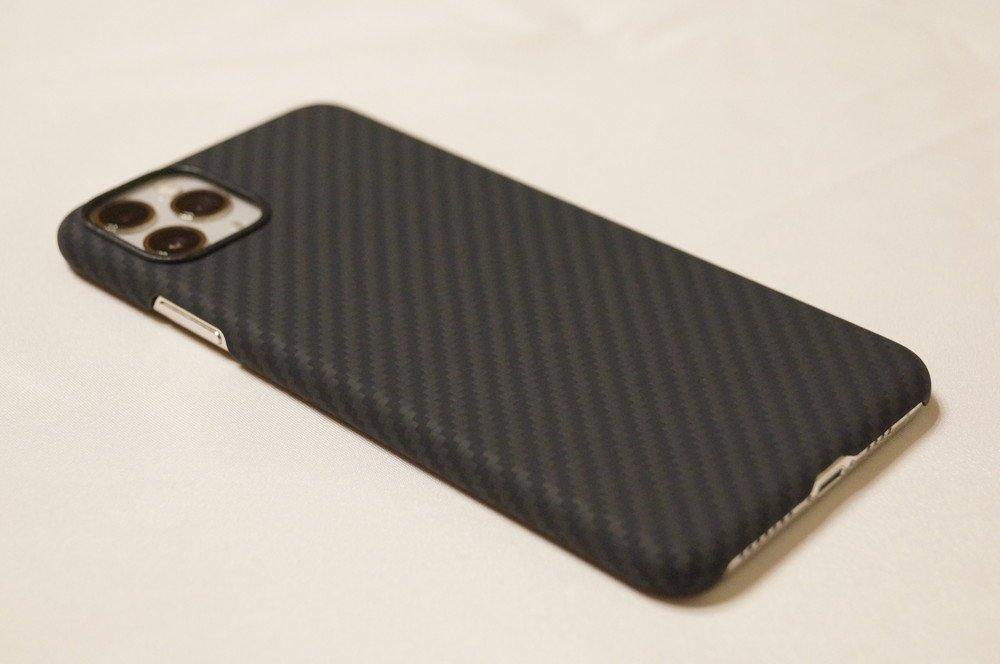 「PITAKA Magcase」iPhone 11 Pro Max用レビュー!アラミド繊維採用で軽くて薄くて高耐久!やっぱり良いケースです!