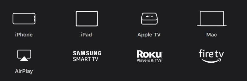 Apple TV+の視聴方法:Appleデバイスの「Apple TV」アプリを介したり、ブラウザからも視聴可能。