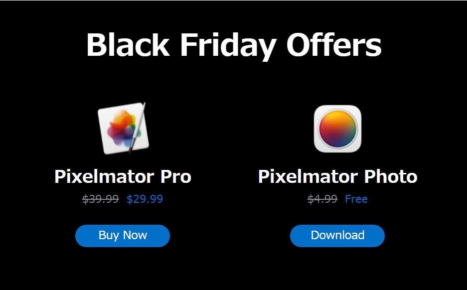 これは貰っとこ!iPad向け高機能フォトエディタ「Pixelmator Photo」が本日23時まで無料!Mac向けの「Pixelmator Pro」も25%オフ!