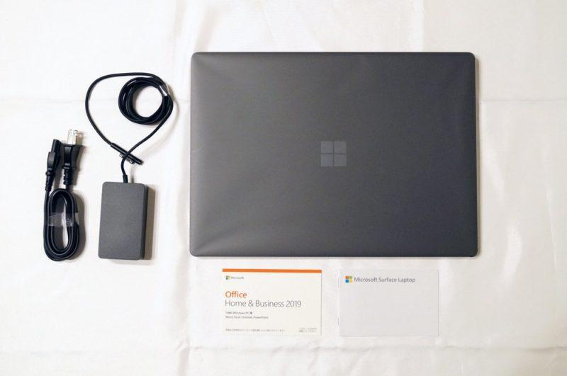 Surface Laptop 3 15インチ:セット内容