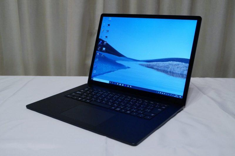 Surface Laptop 3 15インチレビュー