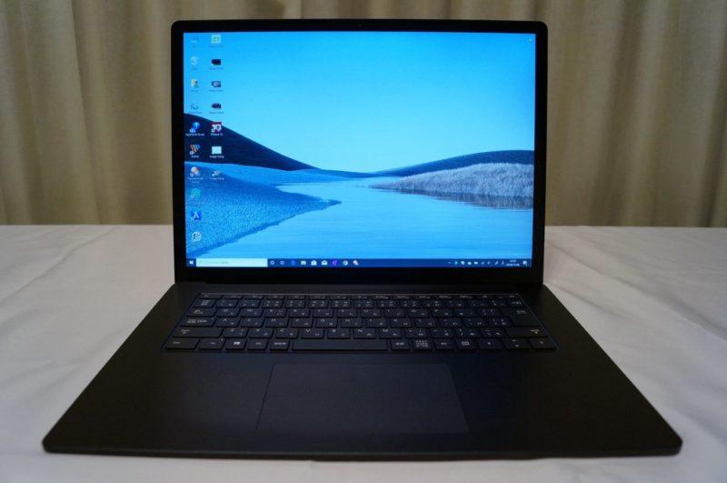 surface laptop 3 レビュー
