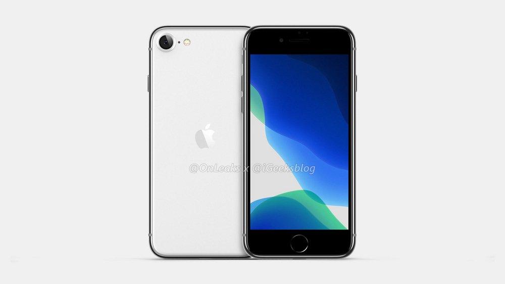 iPhone SE2/iPhone 9の予想レンダリング画像