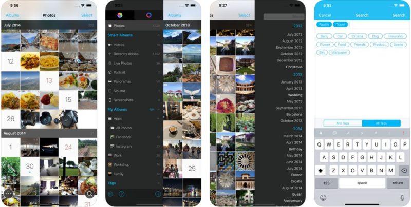 HashPhotos:純正「写真」アプリに置き換えて使いたいシンプルで使いやすい写真管理アプリ