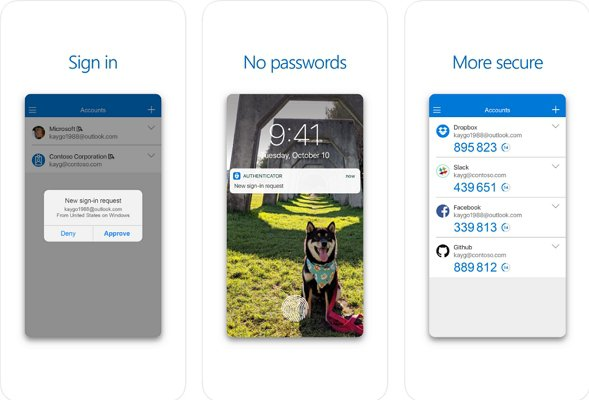 Microsoft Authenticator:2段階認証時に便利!Google Authenticatorの代わりにもなりますよ。
