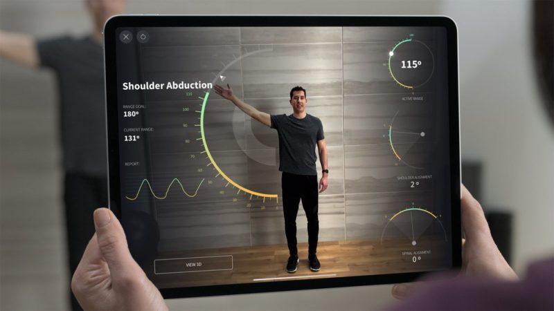 新しい「iPad Pro」のLiDARスキャナ