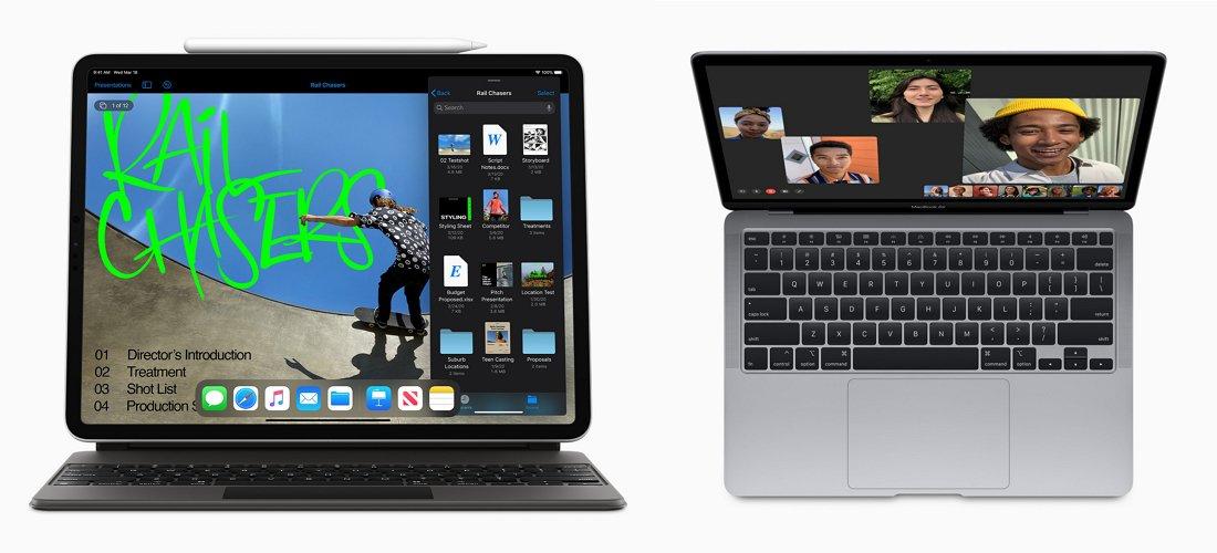 Appleが新しい「iPad Pro」を発表!ついにトラックパッドに対応!CPU性能とSSD容量が2倍になった「MacBook Air」も新登場!