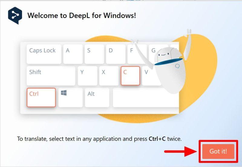 Windows/Mac向け「DeepL翻訳」アプリをインストールすると「Ctrl+Cを2回押し」ですぐに翻訳可能!