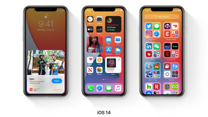 iOS 14 にアップデート可能な iPhone 対応機種一覧。