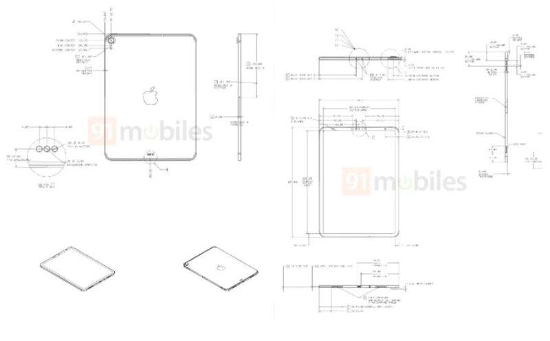 iPad Air 4?第8世代iPad?謎の10.8インチiPad設計図が流出。