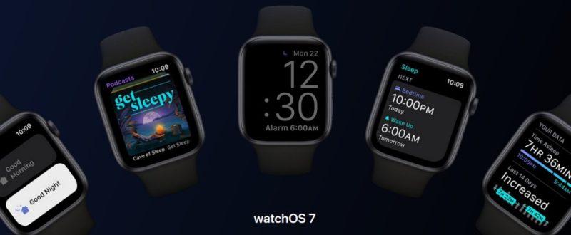 watchOS 7 にアップデート可能な Apple Watch 対応機種一覧。