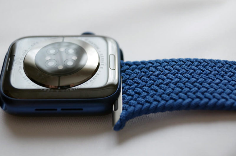 Apple Watch Series 6 Cellular 44mm ブルーアルミニウムケース&ブレイデッドソロループ:開封の儀&外観レビュー