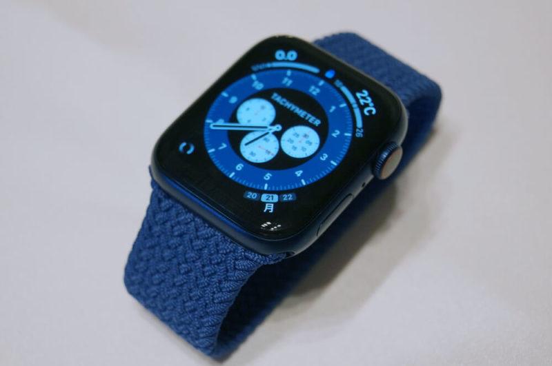 【2020年】買っても良かったもの3位:Apple Watch Series 6 Cellularモデル