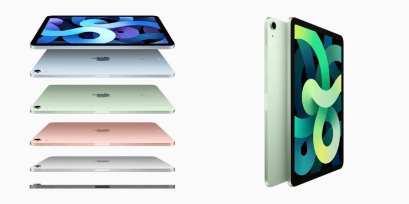 デザインが大幅に刷新された 「iPad Air 4」と安価な 「iPad 第8世代」が登場!