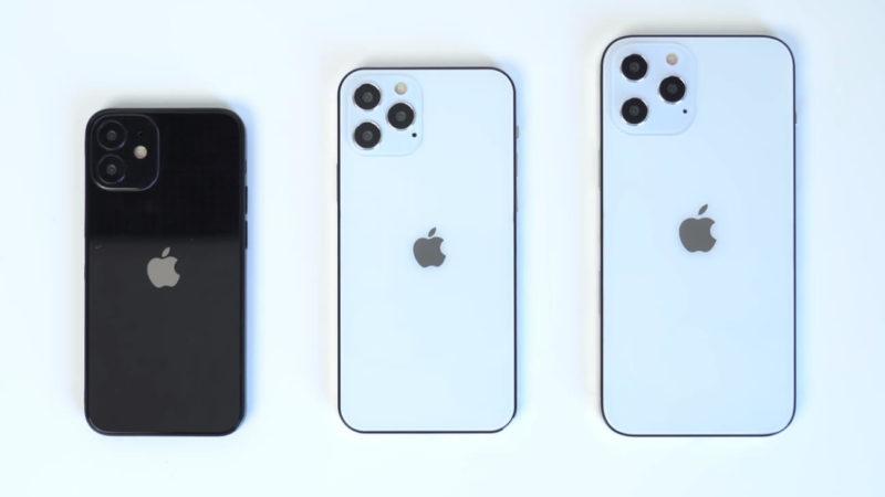 新型iPhoneの名称は「iPhone 12 mini」「iPhone 12」「iPhone 12 Pro」「iPhone 12 Pro Max」?価格は649ドルからとの噂。