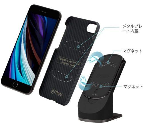 「PITAKA MagEZ Case」:ワイヤレス充電器とセットで使えばさらに便利に!